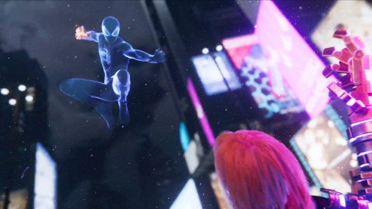 Marvel Spider-Man Miles Morales Video Game Powers Invisibility
