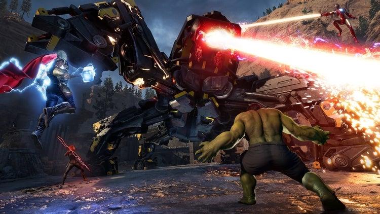 marvels avengers new screenshots 1