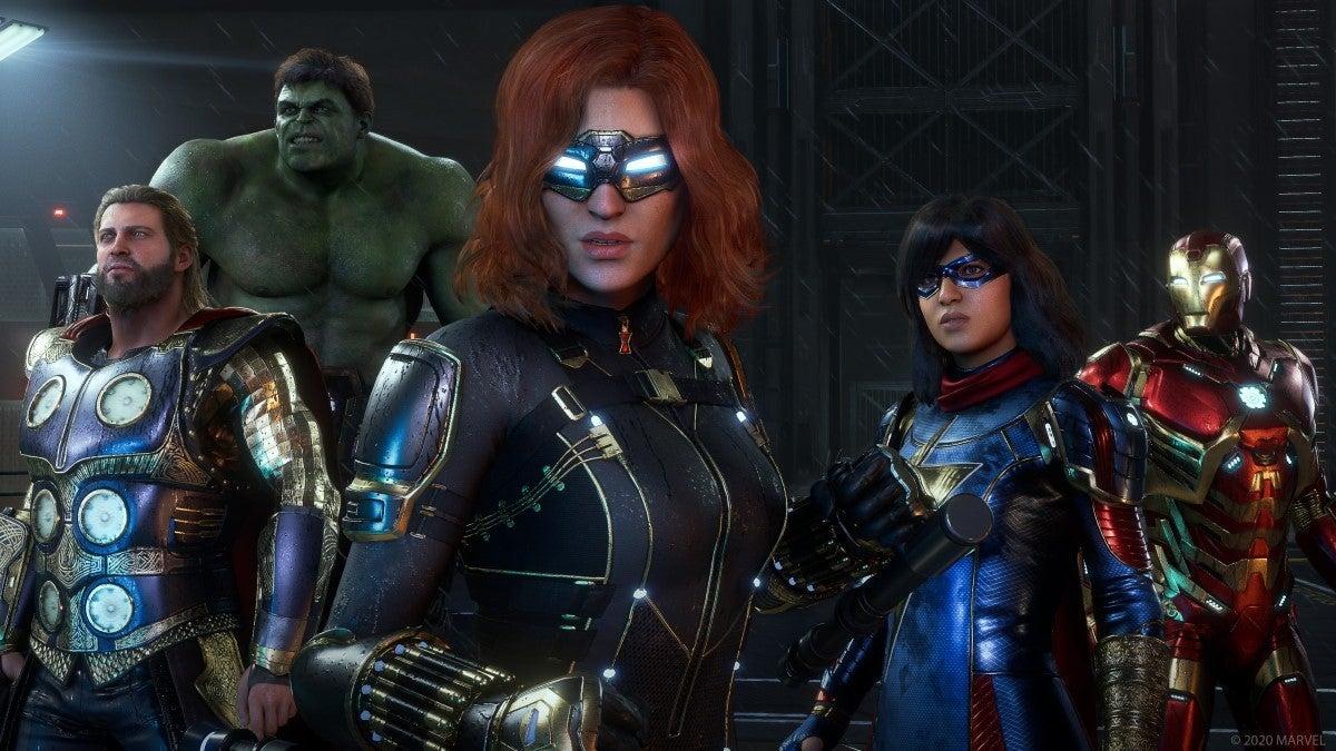 marvels avengers new screenshots 12