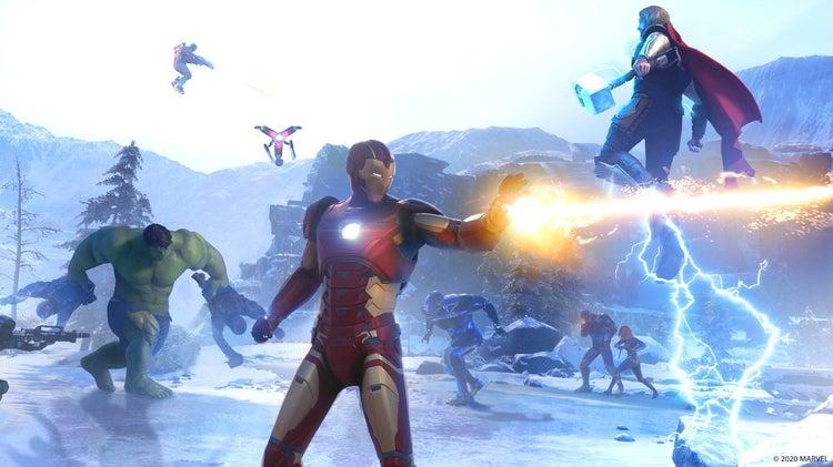 marvels avengers new screenshots 2