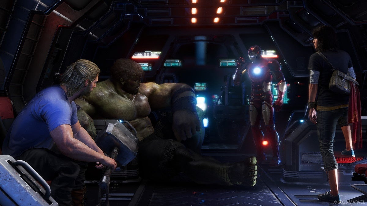 marvels avengers new screenshots 3