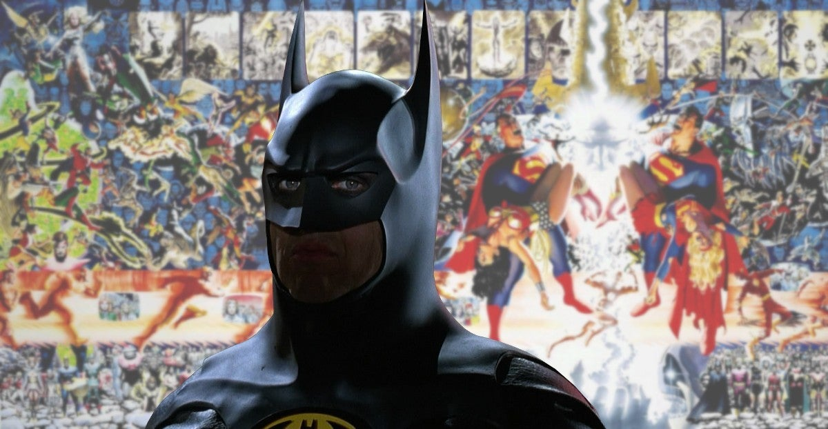 Michael Keaton Batman DC Flash Movies Crisis Event Film