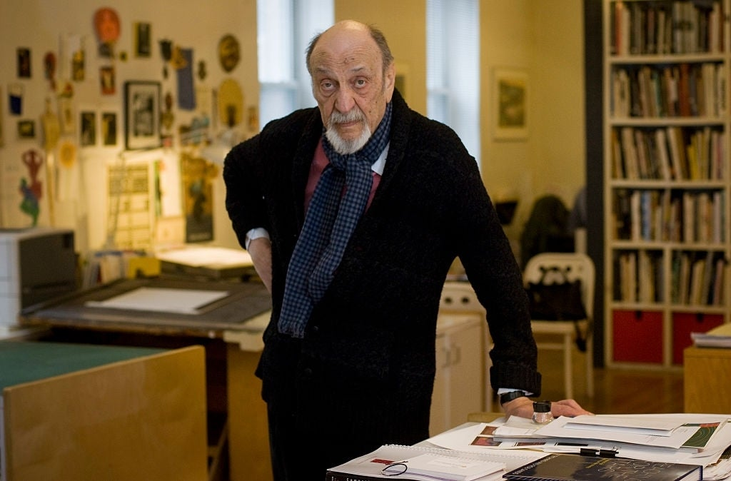 milton glaser graphic designer