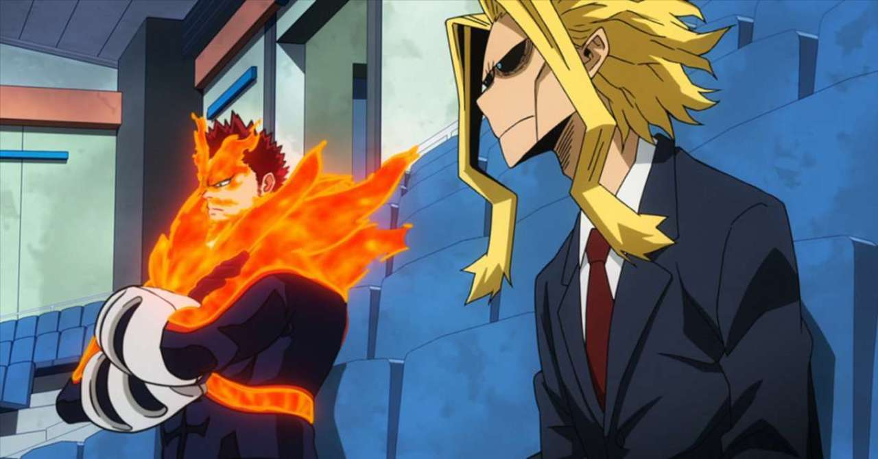 My Hero Academia Cosplay Gives Us A Bloody All Might And Endeavor