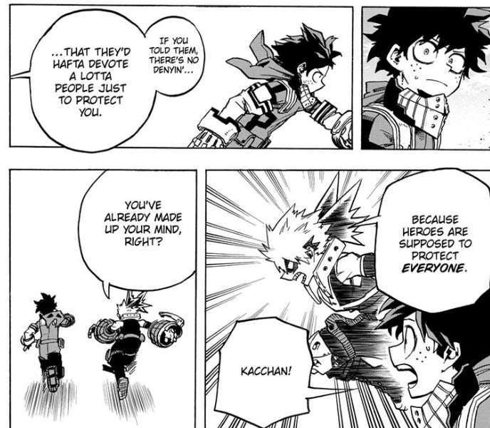 My Hero Academia Bakugo And Deku