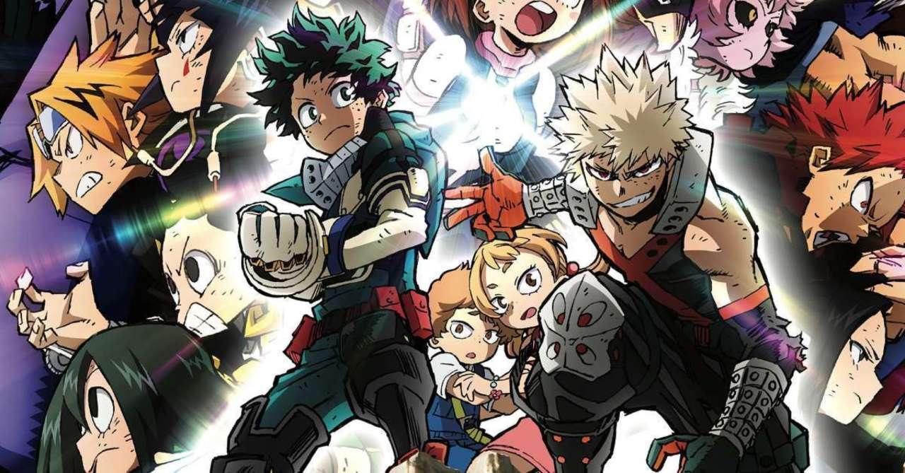 My Hero Academia Heroes Rising Releases Blu Ray Dvd Details