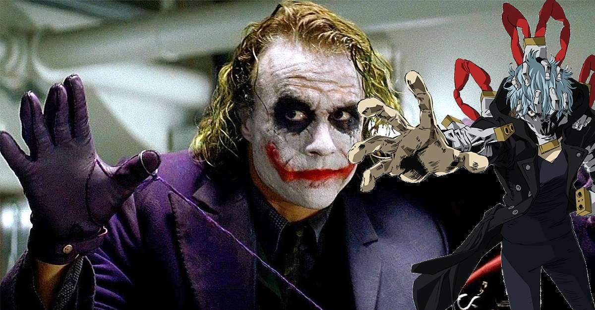 My Hero Academia Joker DC Comics Crossover