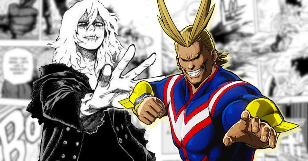 My Hero Academia Shigaraki New Power All Might Manga 276