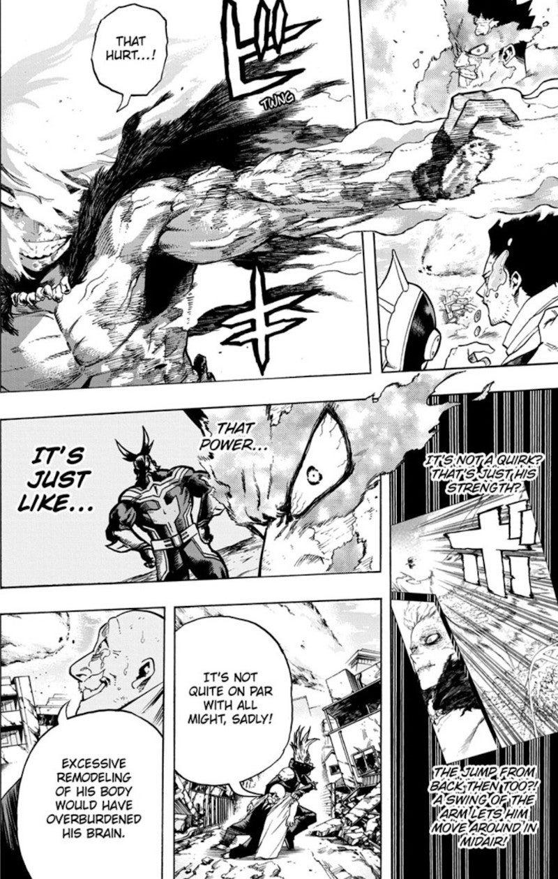 My Hero Academia Shigaraki New Power All Might Manga Anime