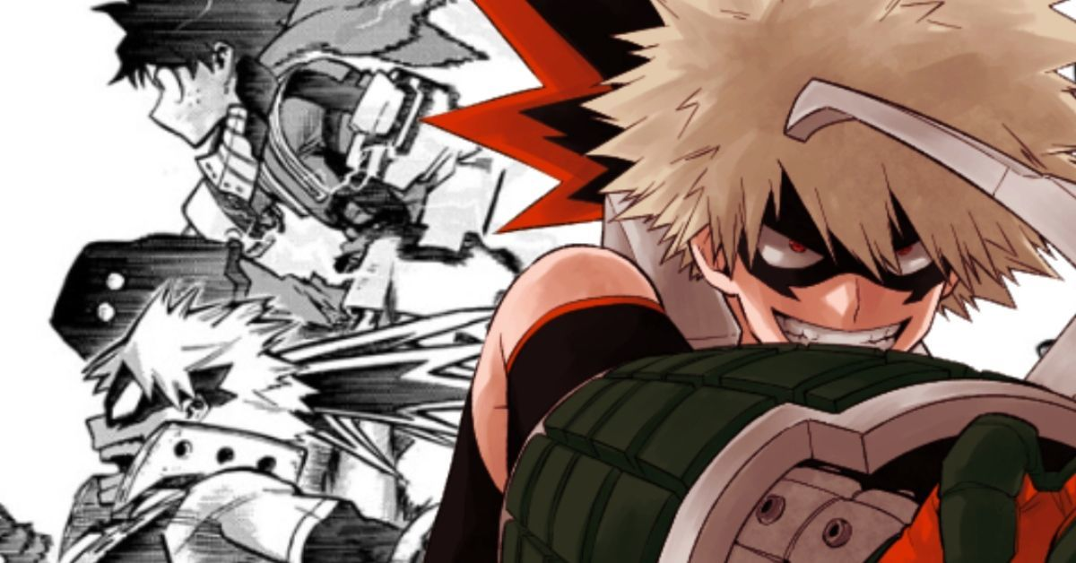 My Hero Academia Spoilers Deku Surpasses Bakugo Manga