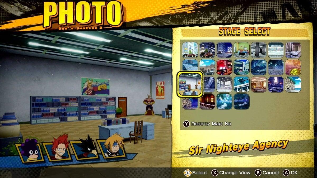 my hero ones justice 2 photo mode 2