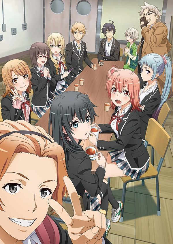 My Teen Romantic Comedy SNAFU Climax Season 3 Key Visual