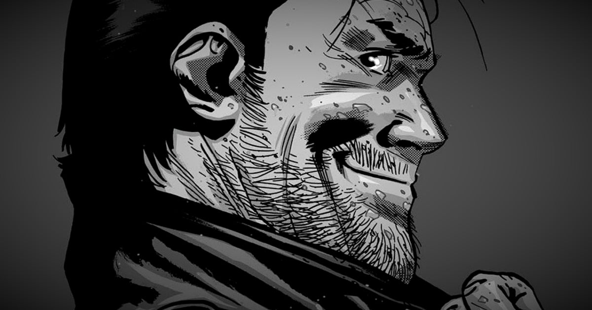 Negan Lives The Walking Dead