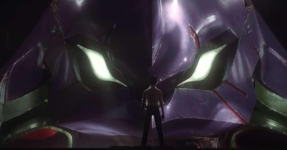 Neon Genesis Evangelion Phone Commercial Footage