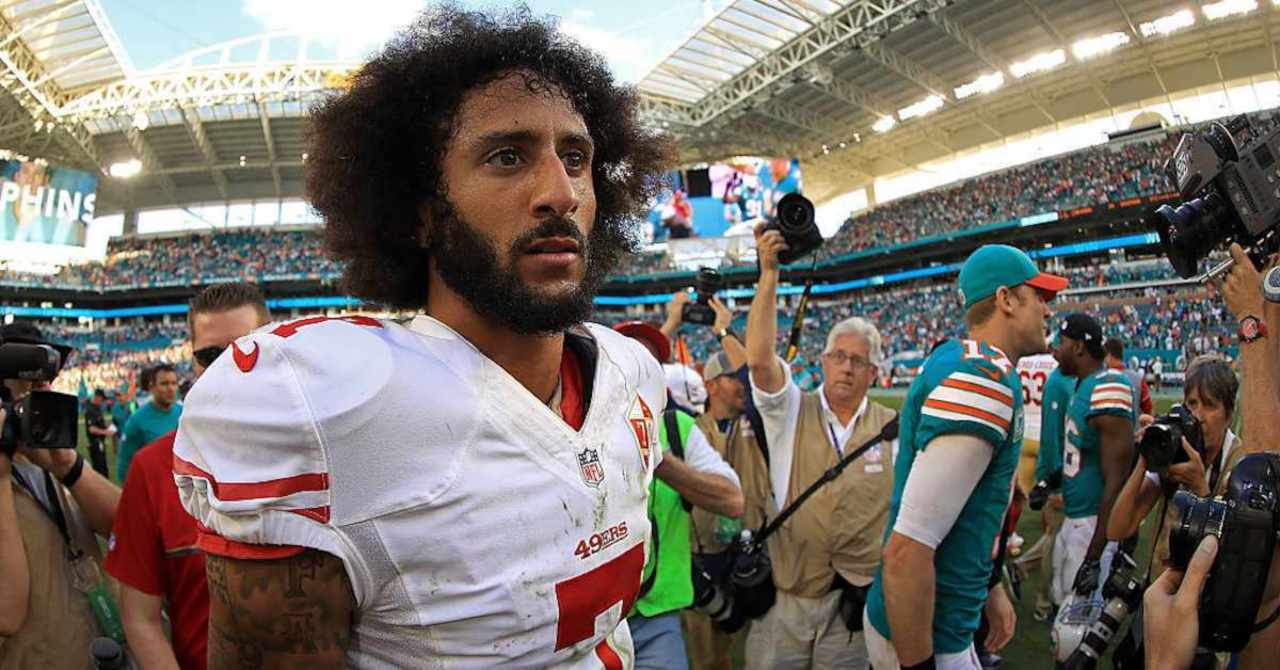 Colin Kaepernick Signs First Look Deal With Disney