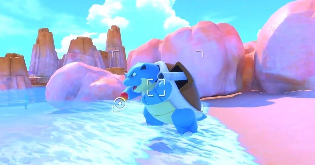 New Pokemon Snap Blastoise