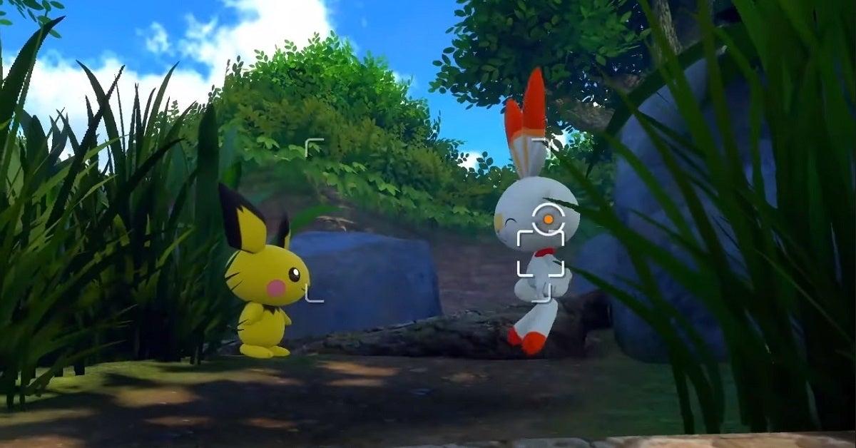 New Pokemon Snap Pichu Scorbunny