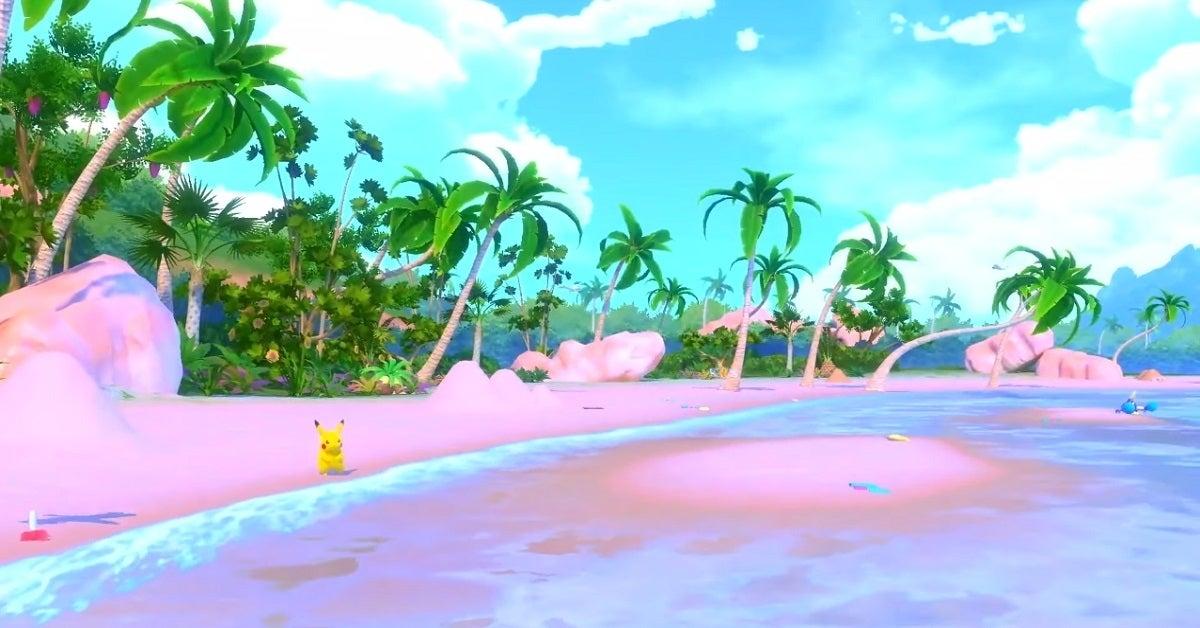 New Pokemon Snap Pikachu Wingull Exeggutor Crabrawler