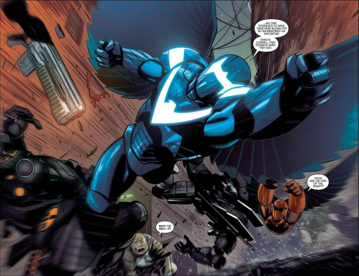Nightwing Armor