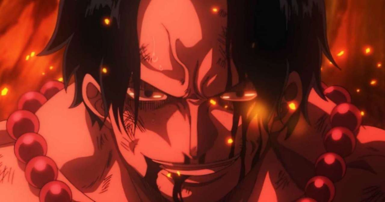 One Piece Fan Draws Stunning Ace Tribute With Fire