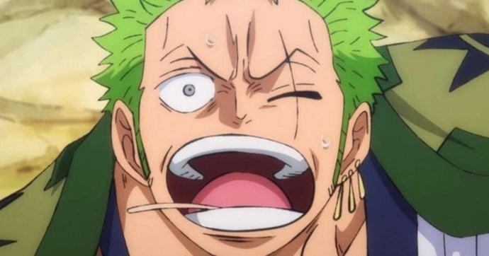 One Piece Zoro Left Eye