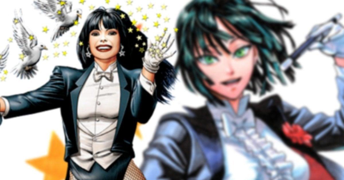 One-Punch Man DC Comics Crossover Fubuki Zatanna Fusion