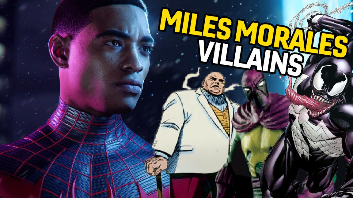 One-Shot - Villains We Want In Spider-Man: Miles Morales
