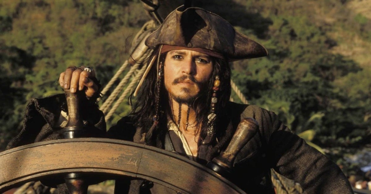 Pirates of the Caribbean Johnny Depp Jack Sparrow