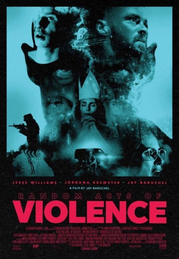 random acts of violence poster jay baruchel horror movie