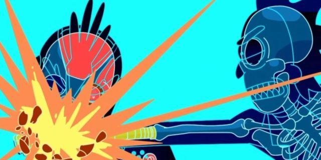 Rick and Morty Season 4 Finale Phoenix Person Rick Fight