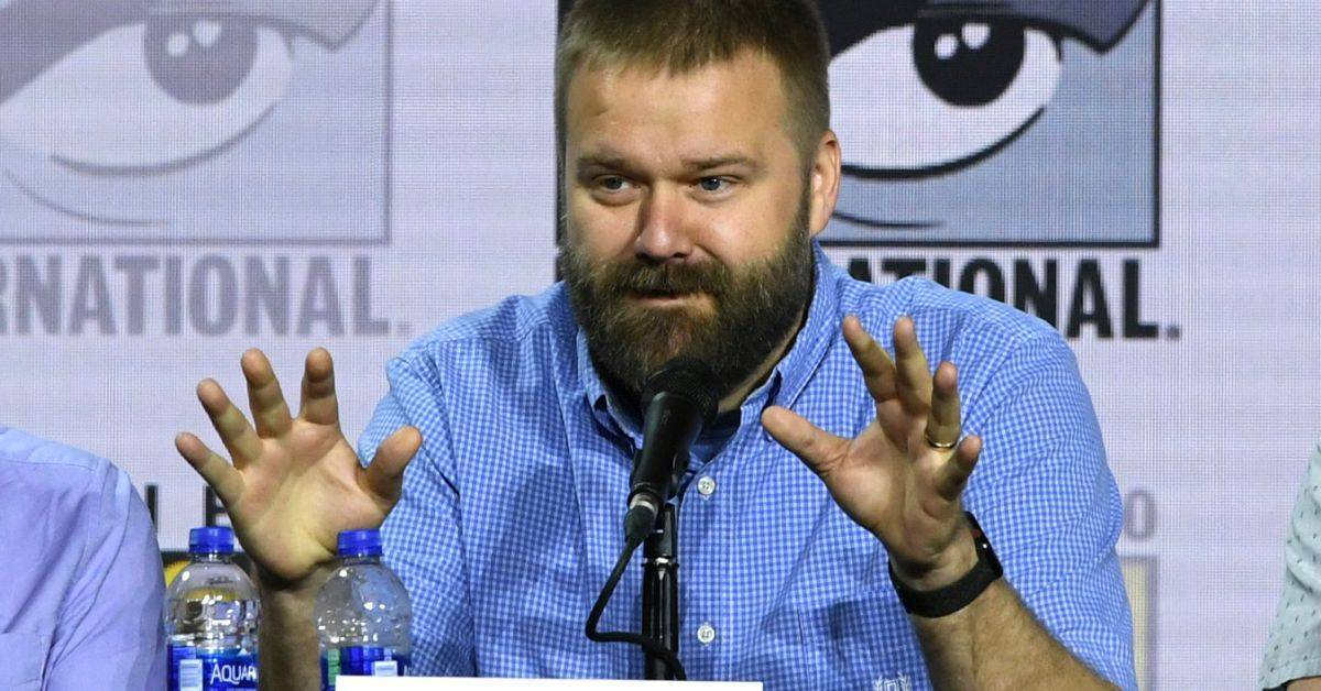 robert kirkman panel comic con at home