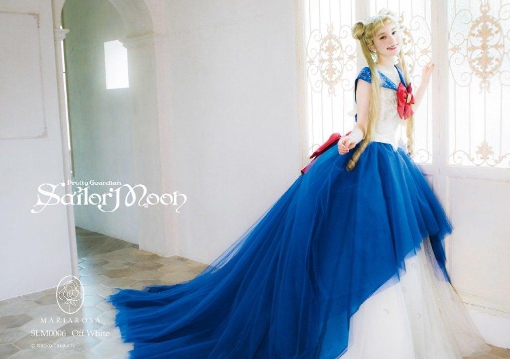 sailor moon wedding dress SW-0