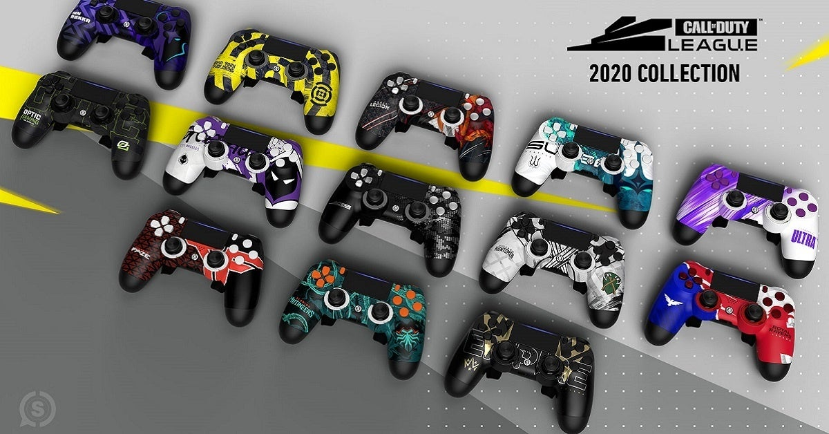 Scuf Call of Duty League Controllers