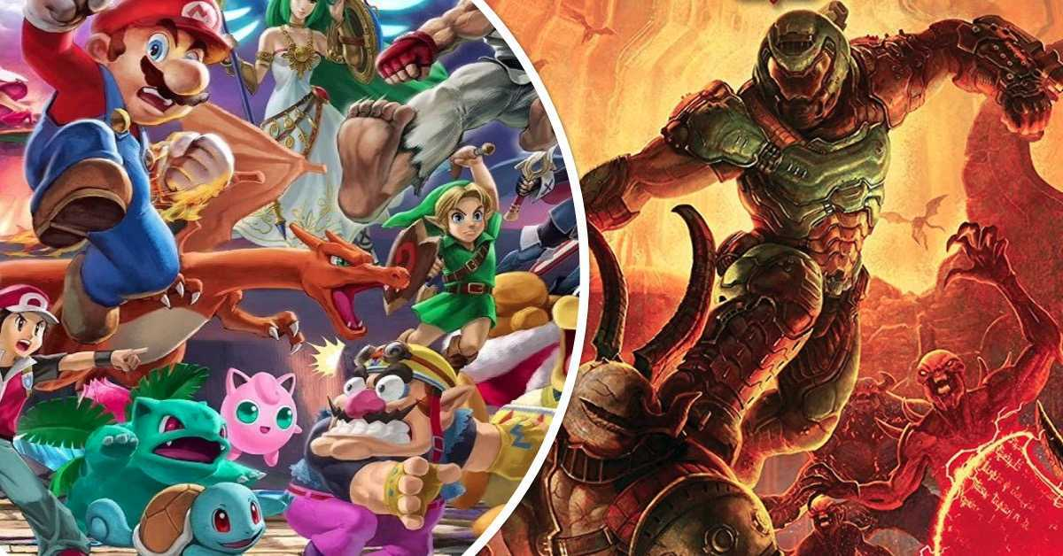 Smash Bros Doom