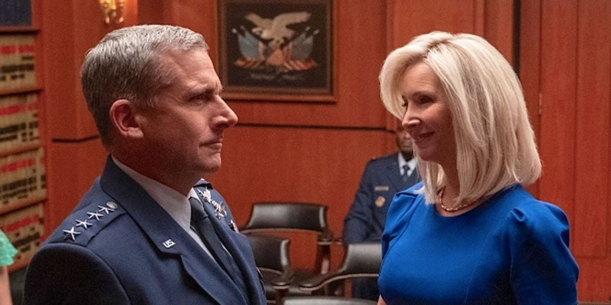 space force netflix lisa kudrow steve carell
