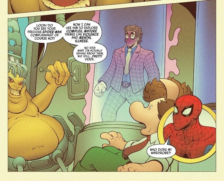 spider ham spider man joker 1