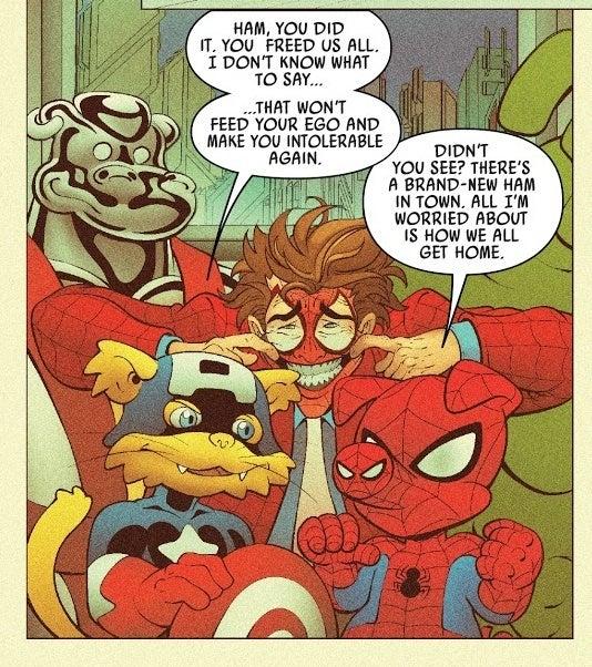 spider ham spider man joker 3