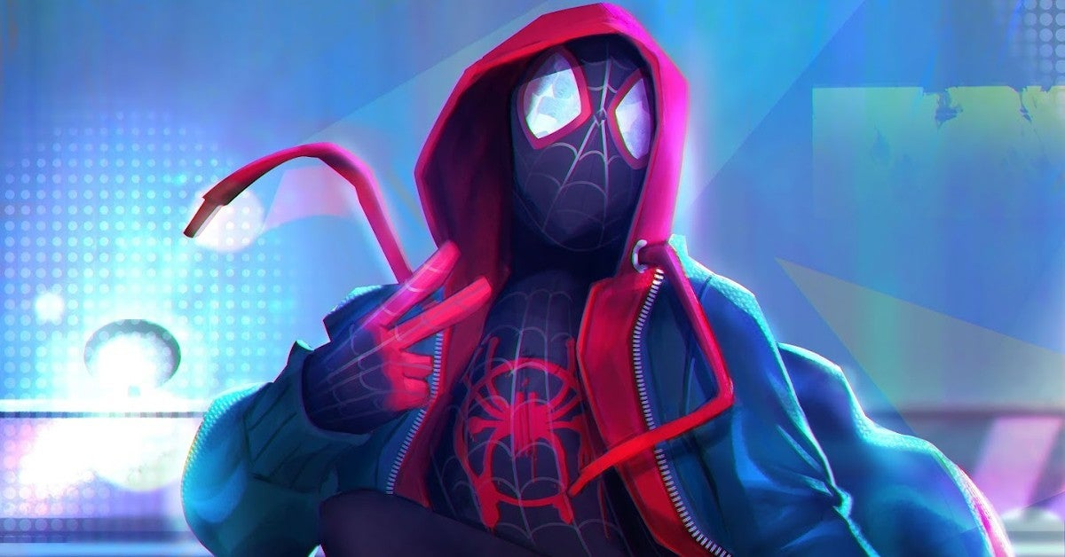 Spider-Man Into Spider-Verse Miles Morales PS5 Reaction