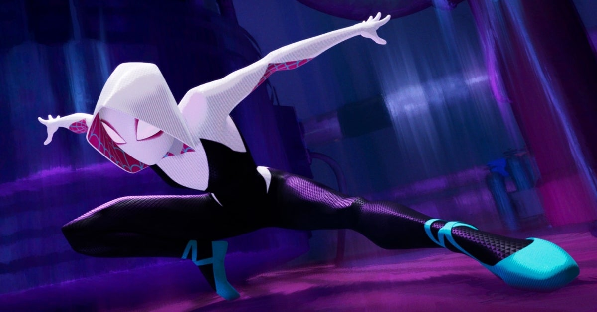 Spider-Man Into the Spider-Verse Spider-Gwen