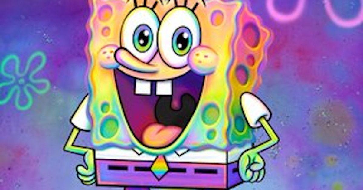 Spongebob squarpants gay pride
