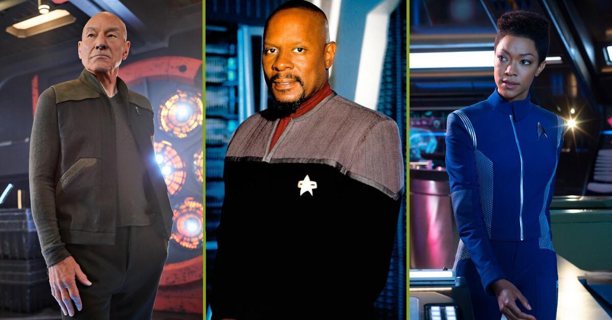 Star Trek Deep Space Nine Picard Discovery