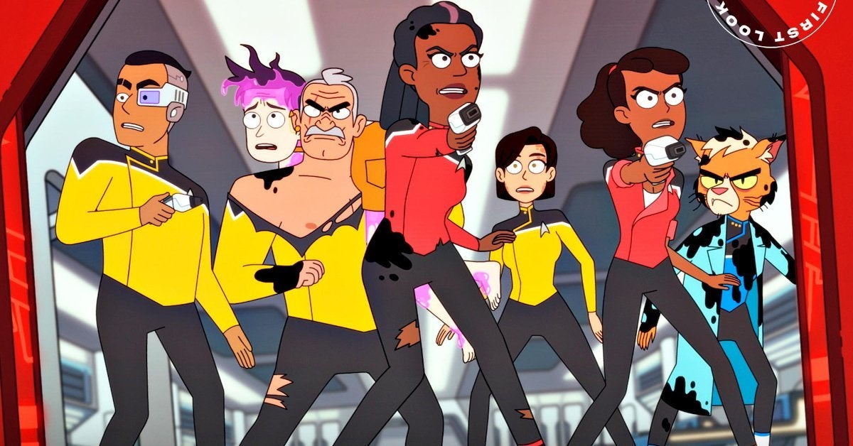 Star Trek Lower Deck Next Generation Character Cameos
