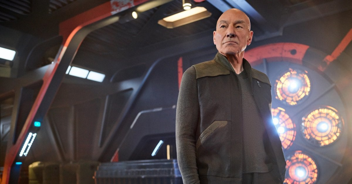 Star Trek Picard Patrick Stewart Goals Logan