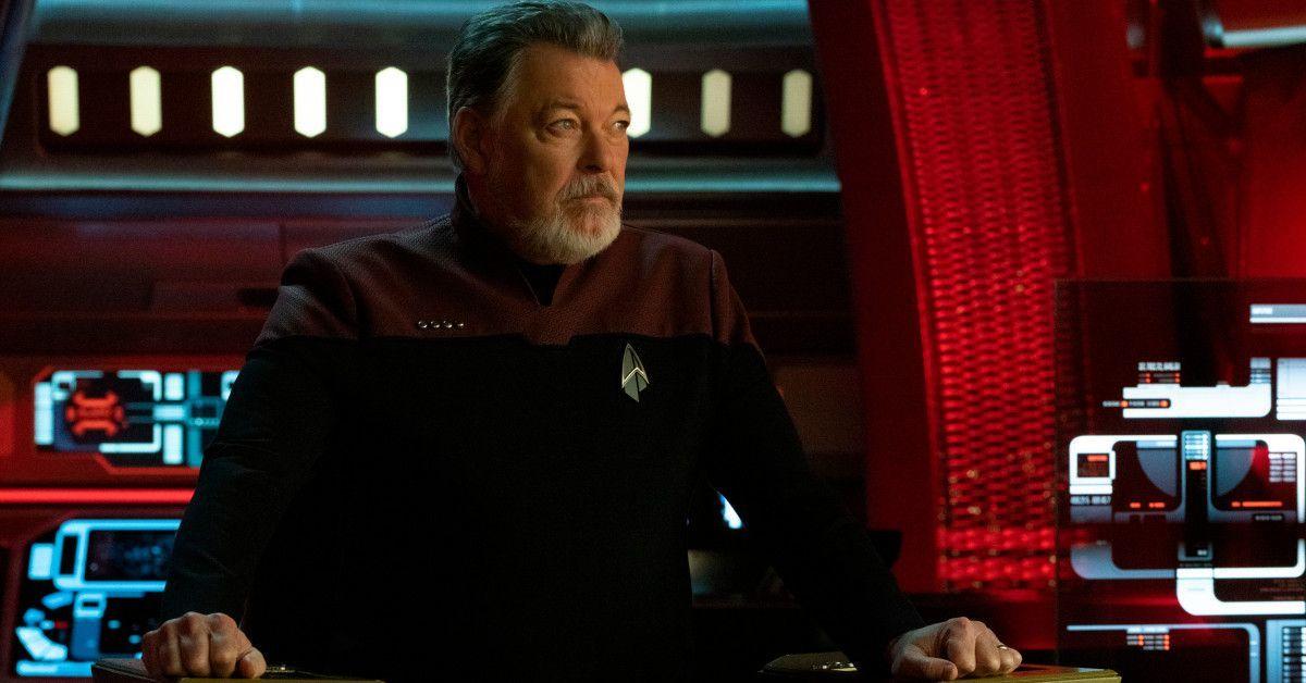 Star Trek Picard Series Cast Season 2 Jonathan Frakes Riker