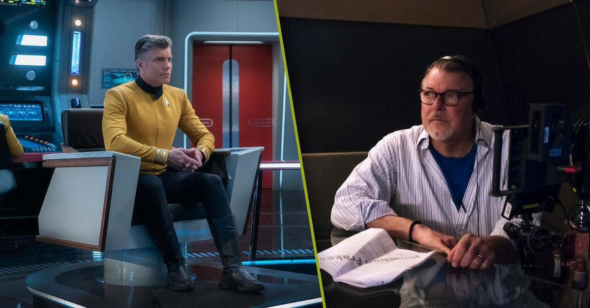 Star Trek Strange New Worlds Jonathan Frakes Directing
