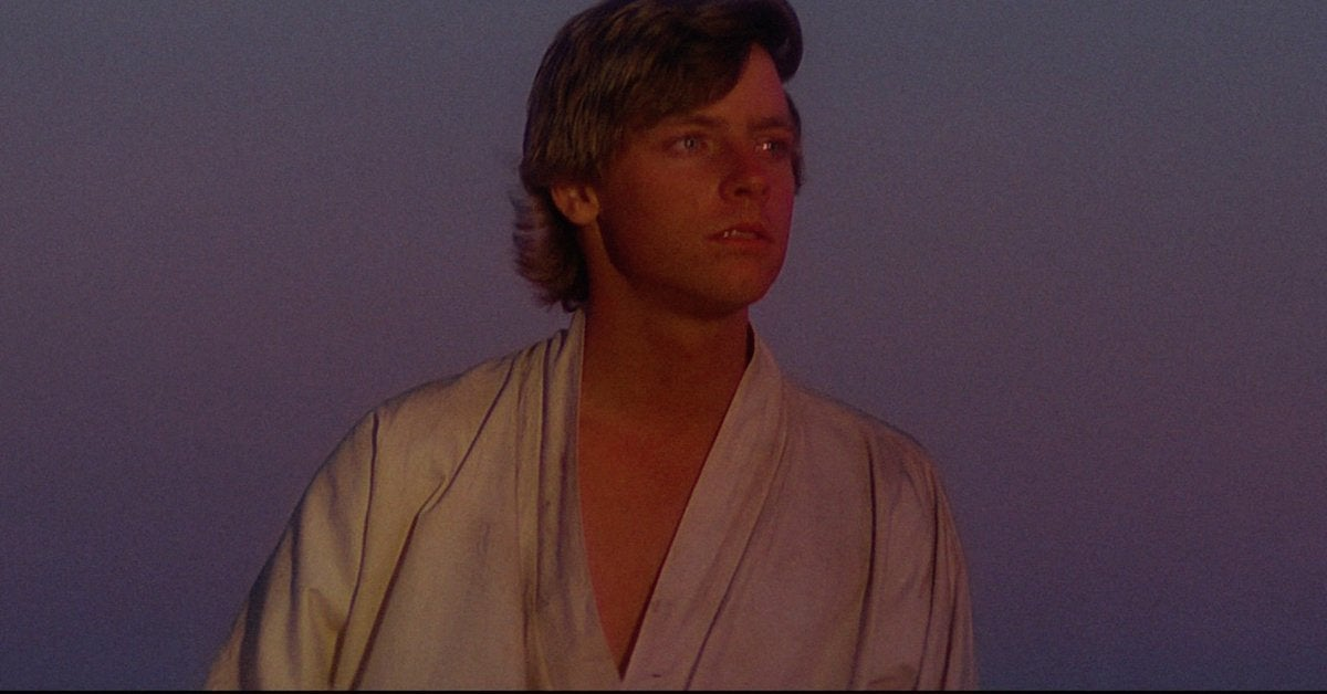 star wars a new hope luke skywalker mark hamill