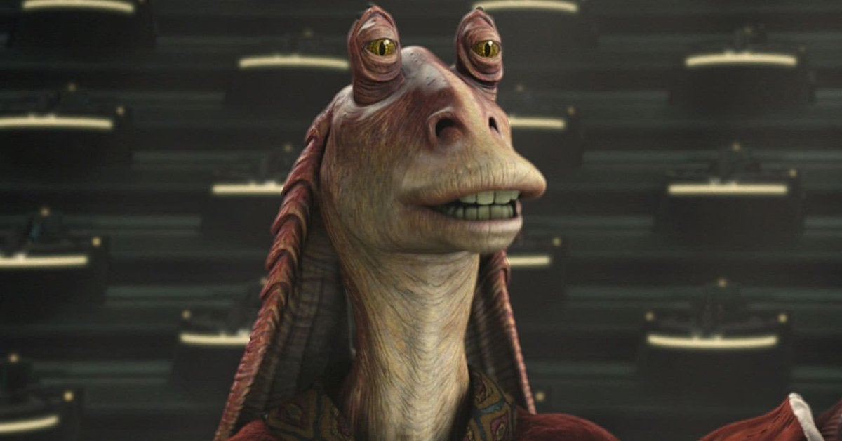 star wars jar jar binks ahmed best