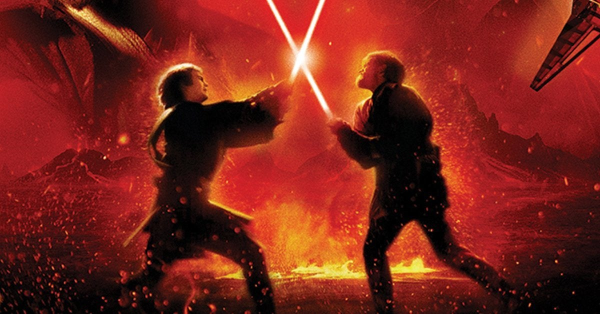 star wars revenge of the sith poster cover