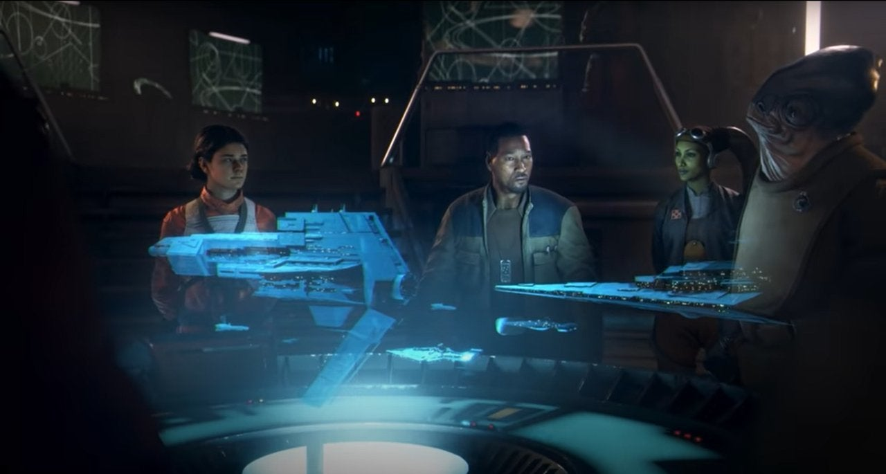 Star Wars: Squadrons Trailer Includes Hera From Star Wars ...