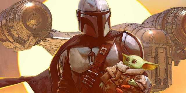 Star Wars The Mandalorian Books Comics